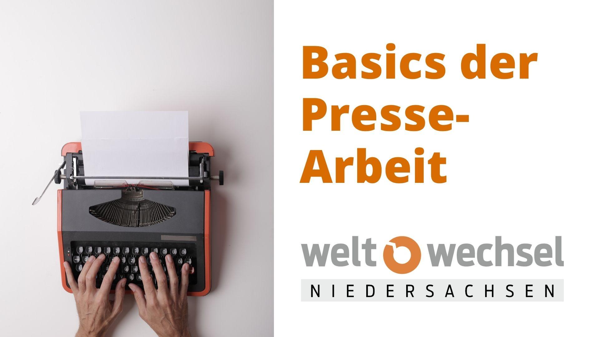 Basics der Pressearbeit 2